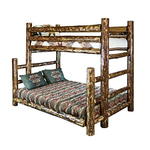 Montana Woodworks MWGCBBTFN Glacier Country Collection Full Bunk Bed, Twin (Bunk Collection Lower Loft)