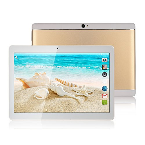 DongPai 2017 New original 10-inch Tablet PC 1280 800 IPS RAM 4G ROM 64G dual SIM card 2G 3G Tablet call Android 7.0 Octa core MTK6592 WIFI Bluetooth dual camera 8.0mp GPS 7 8 9 10.1 gift