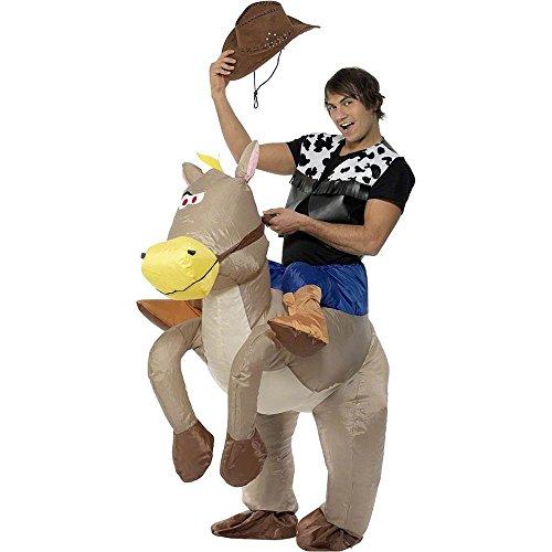 Ride Em Cowboy Costumes (Ride Em Cowboy Inflatable Adult Costume - Standard)