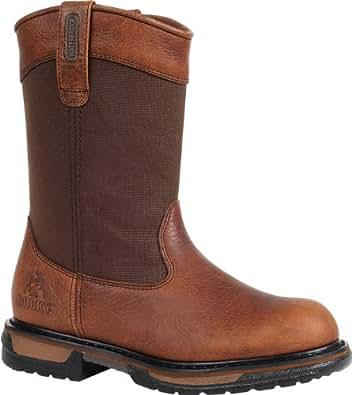 """Rocky Men's 11"""" IronClad Waterproof Wellington Work Boot-2430 (M10)"""