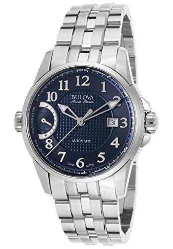 Bulova-Mens-Calibrator-Swiss-Automatic-Stainless-Steel-Casual-Watch-Model-63B175