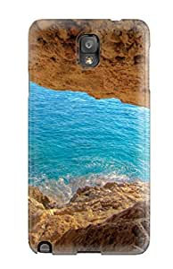 Durable Defender Case For Galaxy Note 3 Tpu Cover(cave) by supermalls
