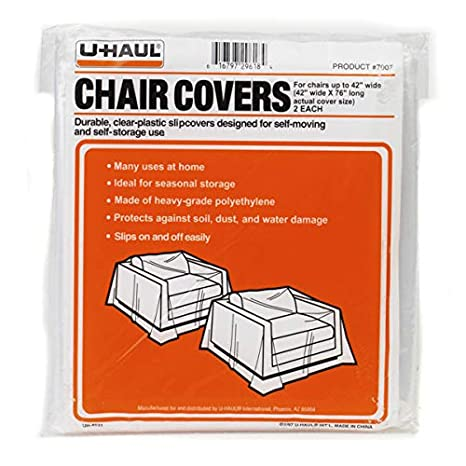 Amazing U Haul Moving Storage Chair Covers Pack Of 2 76 X 42 Andrewgaddart Wooden Chair Designs For Living Room Andrewgaddartcom