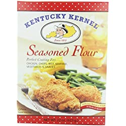 Hodgson Mill Seasoned Flour, Economy Size, 22-Ounce (Pack of 4)