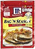 McCormick Bag 'n Season Pot Roast Cooking & Seasoning Mix, 0.81 oz, Pack of 6