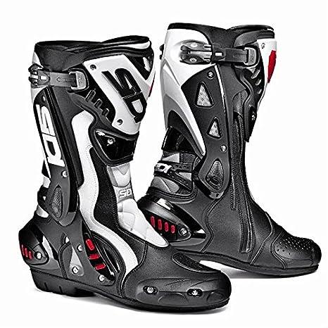 Gr/ö/ße Stiefel schwarz-wei/ß Sidi ST Race Boots 38