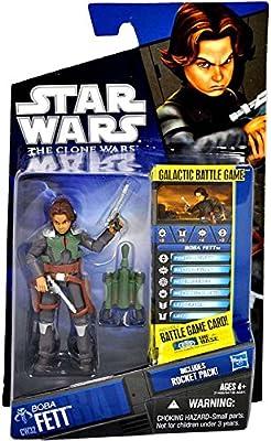 Star Wars Clone Wars 2010 Figure Boba Fett #32