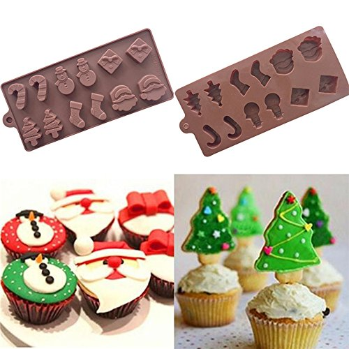 High Quality Silicone Cake Mould, Cake Decoration, Chocolate Baking Mould for Xmas parties Shujon
