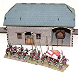28mm Stone Coaching Stables - War Gaming