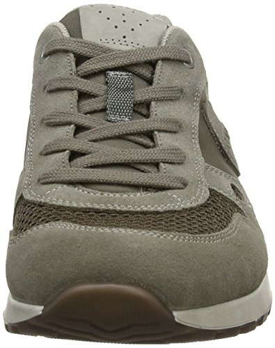 ECCO Chase 14, Sneaker Basse Uomo Grigio (Warm Grey/Dark Clay/Moon Rock)