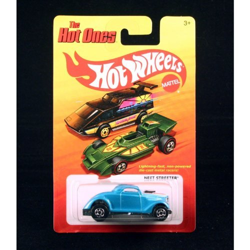 (NEET STREETER (BLUE) * The Hot Ones * 2011 Release of the 80's Classic Vintage HOT WHEELS)