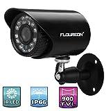 Floureon 900TVL Waterproof CCTV DVR Security Cameras Wall Mount IR-CUT Night Vision Bullet Cameras
