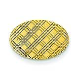 14K Yellow Gold Tie Tac Polished Mens Jewelry New |I