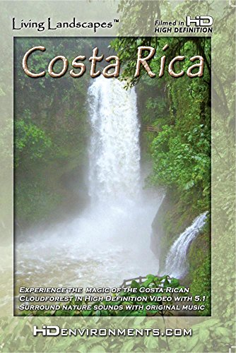 Living Landscapes HD Costa Rica (WMV-HD Version for Windows Media and PC's)