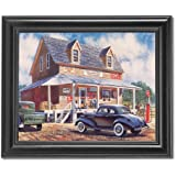 African American Old Country Store Wall Picture Framed Art Print