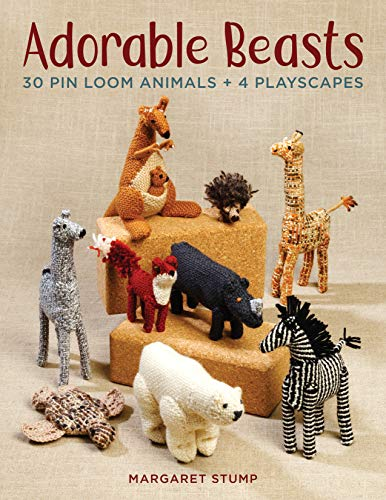 - Adorable Beasts: 30 Pin Loom Animals + 4 Playscapes