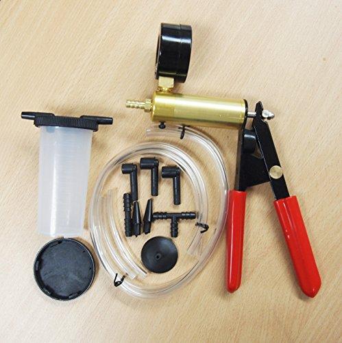 Brake Bleeder & Vacuum Pump Kits Tester 2 in 1 Auto Hand-Held ()