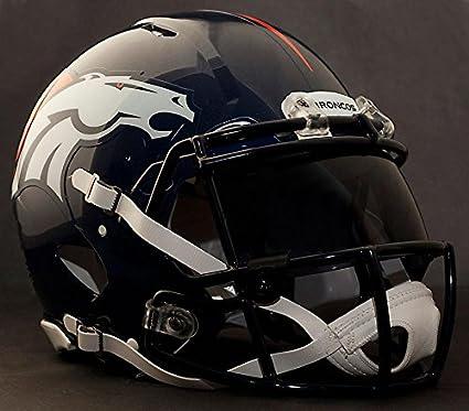 27ab57b4b112e Riddell Speed DENVER BRONCOS NFL REPLICA - Casco de fútbol con visera