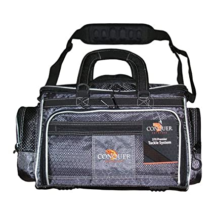 Amazon.com: Conquista 370 parte delantera carga Tackle bolsa ...
