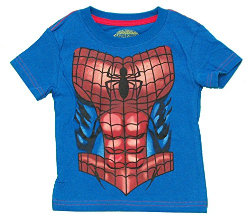Mary Jane Costumes Spiderman (Spider-Man Costume Marvel Comics Superhero Juvy T-Shirt Tee: MD 5/6)