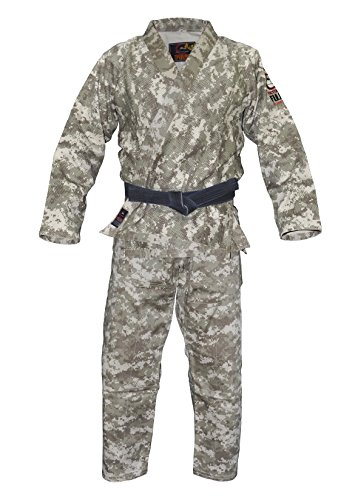 Fuji Brazilian Jiu Jitsu GI Uniform, Digital Camo, A3