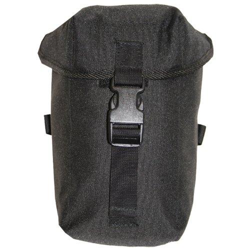 Highlander Wasserflasche Tasche PLCE Schwarz