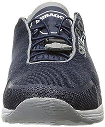 Sebago Men\'s Cyphon Sea Sport Boating Shoe, Navy/Grey Textile, 14 M US