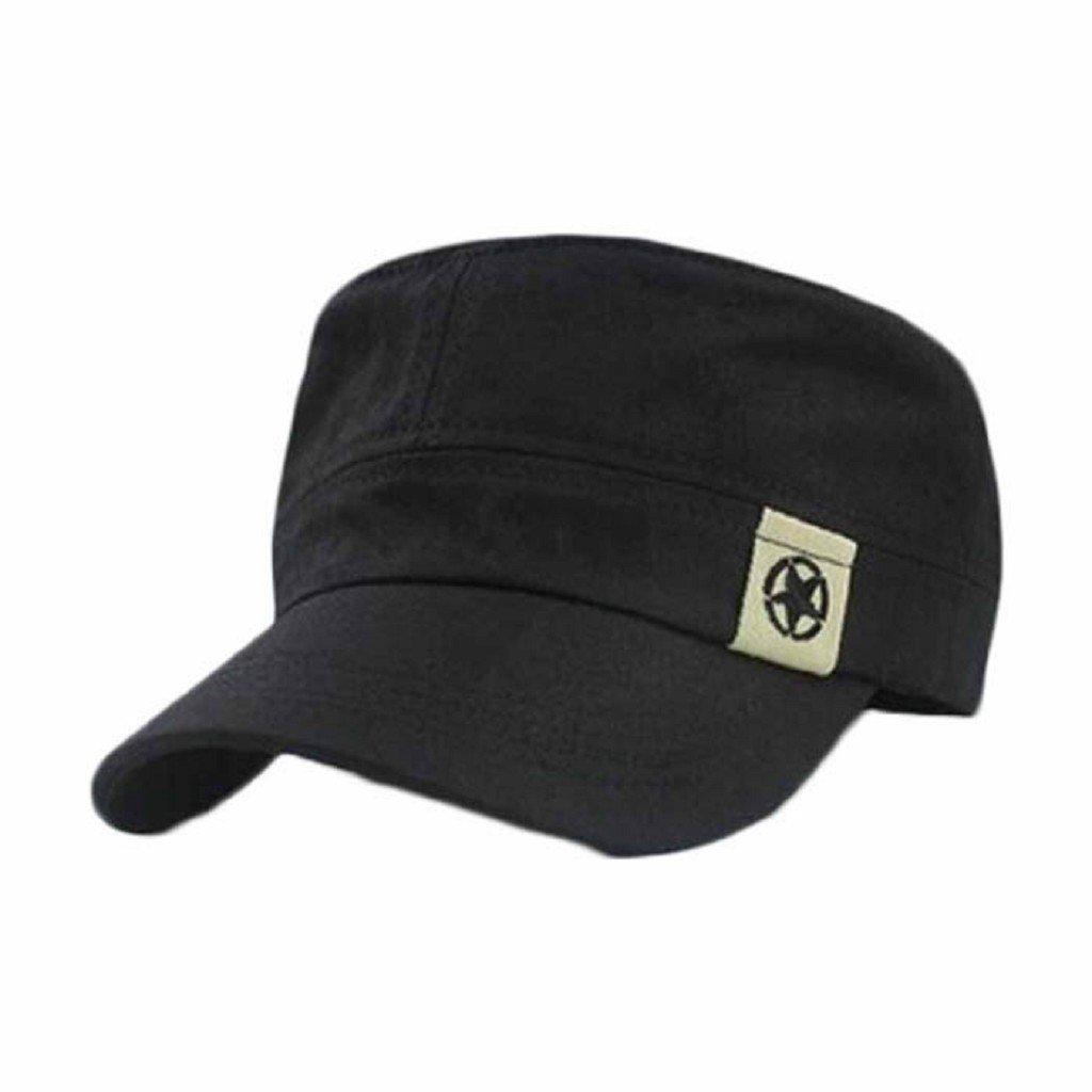 Berretto baseball Familizo Cappello militare unisex tetto piano Cadet Patrol Cappello australiano Ba...