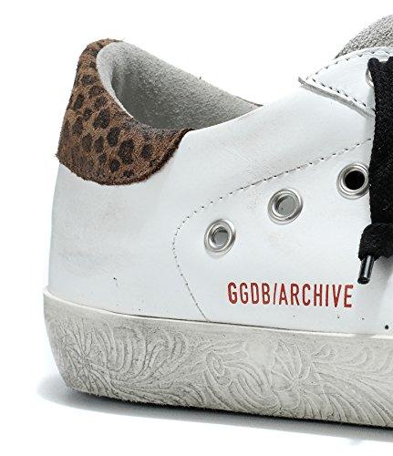 Golden Goose Sneakers Unisex GARMS590F1 Pelle Bianco