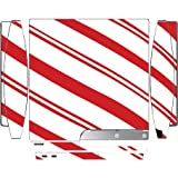 Christmas Red Candy Cane Playstation 3 & PS3 Slim Vinyl Decal Sticker Skin by Moonlight Printing