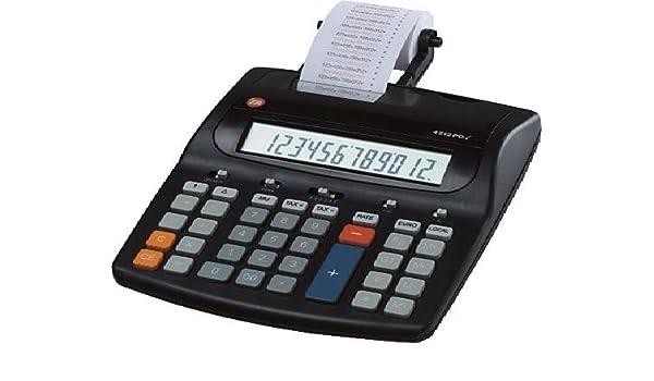 TA Triumph Adler 4212 PDL - Calculadora impresora (teclas grandes ...