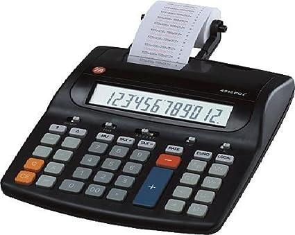 TA Triumph Adler 4212 PDL - Calculadora impresora (teclas ...