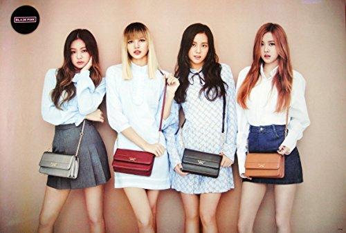 Black Pink Blackpink Korean Girl Group Kpop Wall Decoration Poster #01