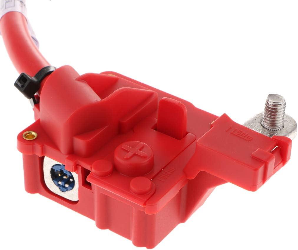Gazechimp Batteriekabel Plus Pol F/ür BMW E82 E84 E88 E90 E91 E92 M3 X1 325