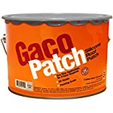 Gaco Patch Fiber Reinforced Silicone Roof Patch - GRAY - 2 GALLON