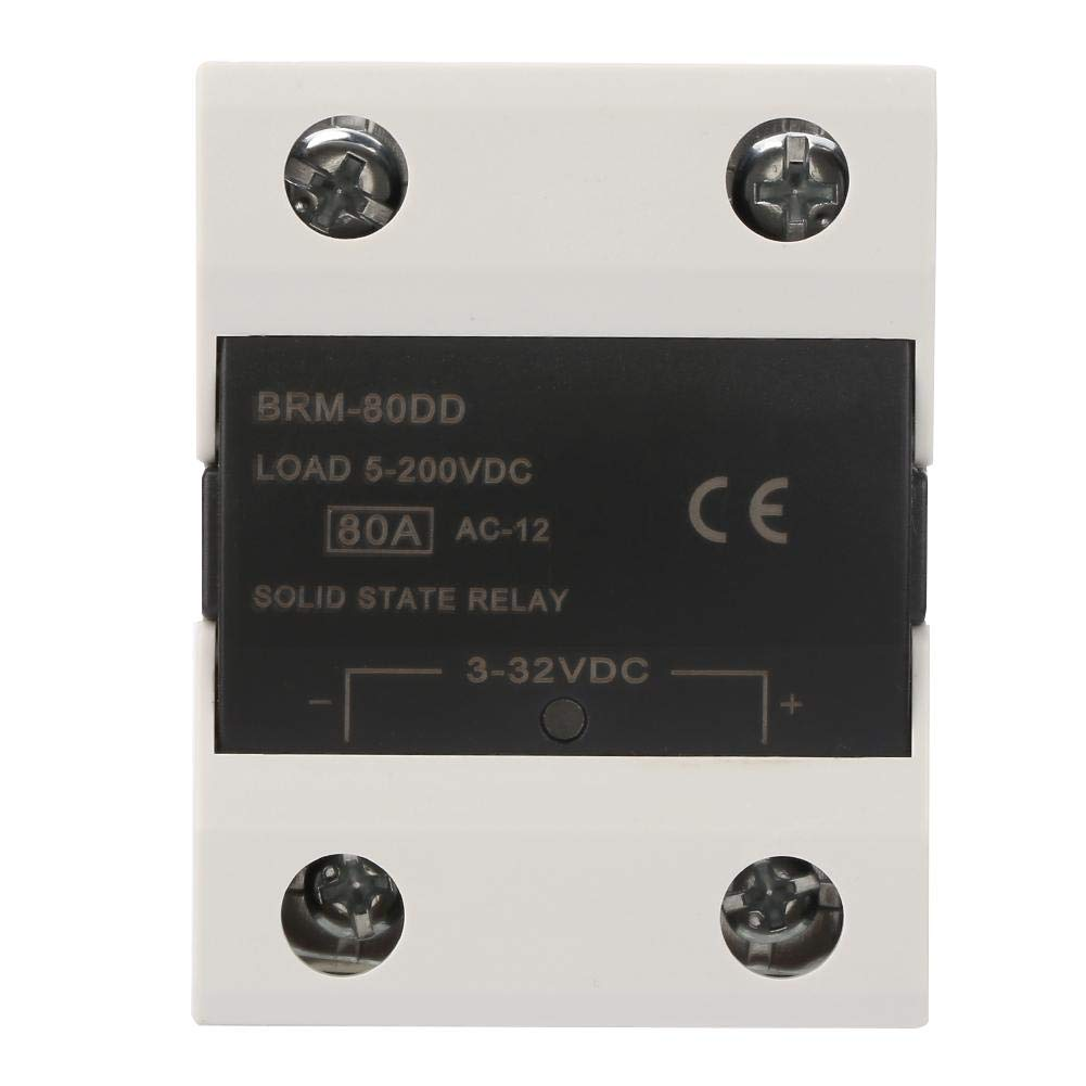 BRM-80DD SSR 3-32V DC Control Communication Solid State Relay can Replace Bulky Contact Regulators in Many Applications Relay Module