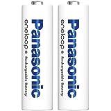 パナソニック eneloop 単3形充電池 2本パック スタンダードモデル 簡易パック 4本収納電池ケースサービス