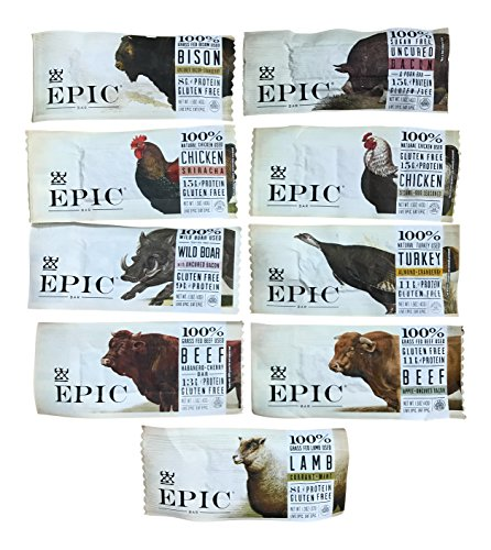 (Epic - Epic Bars Variety Pack, 9 Flavors (9 Pack))