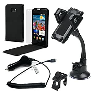 Muvit Premium Car Pack Plus - Accesorio para dispositivos portátil (Negro)
