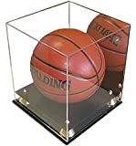 DisplayGifts Full Size Basketball Display Case Stand, UV Protection