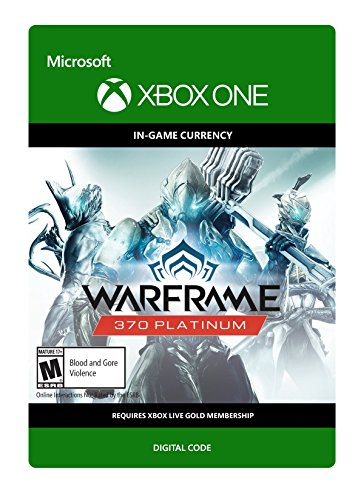 Warframe: 370 Platinum - Xbox One Digital Code