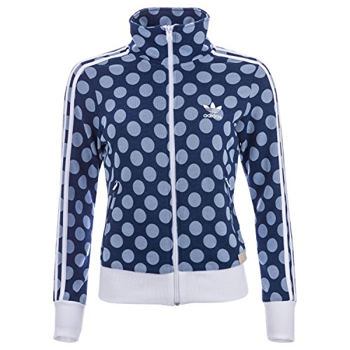 Track Women Firebird (adidas Originals Women's Firebird Track Jacket Real Pearl Opal 2 Blue)