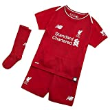 New Balance Boys' Lfc Home Infant Supporters Set, Red Pepper, 6-7 Years