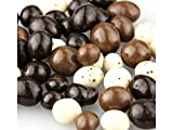 Tri-Colored Coffee Beans - One Pound - Milk, Dark and Cream Flavored