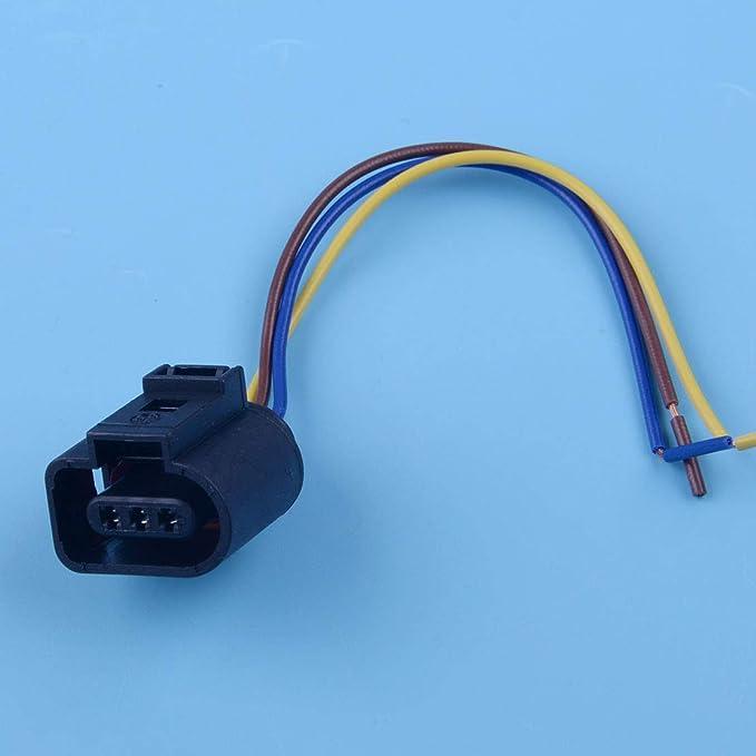 beler Prise de r/éparation de Connecteur de capteur darbre /à cames /à 3 broches 1J0973703