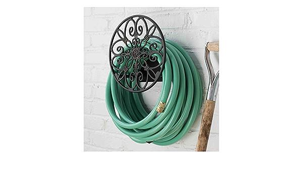 Garden Pipe Holder Hosepipe Watering Hook Hose Hanger Rack Reel Storage K3S2