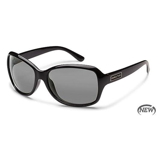 a8c238f3c6 Amazon.com  Suncloud Optics Mosaic Polarized Sunglasses(Black