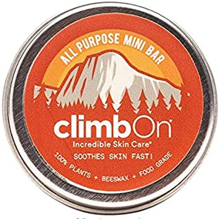 product image for climbOn The Original, All Purpose Mini Lotion Bar - Aromatherapy Balm Helps Soothes and Moisturizes Dry Cracked Skin, 0.5 oz Tin