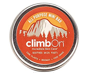 Climbon Crema de Manos Natural y Antibacteriana, 14g, Pack de 1