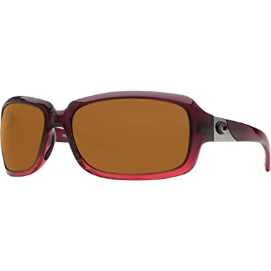 6c17489dc8390 Costa Del Mar Sunglasses - Isabela- Plastic   Frame  Pomegranate Fade Lens   Polarized